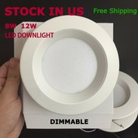 Led Energy Star for sale - Dimmable 8W 12W Led light 4'' 5'' 6'' UL cUL Energy-star led down light Stock in US the best choice for retailer