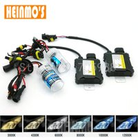 Wholesale H11 35w - High quality 35W Xenon HID Conversion Slim Kit h7 6000K H1 H3 H11 H8 H9 H11 H10 9005 9006 880 881 5000k 43000k 6000k 8000k 10000k 12000k