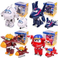 Big !!! 15cm ABS Super Wings Deformation Robot d'avion Figurines d'action Super Wing Transformation jouets pour cadeaux d'enfants Brinquedos