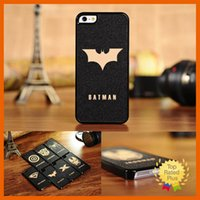 Wholesale Iphone Cartoon Hero Case - Ultra-thin Cool Cartoon Super Hero Face Phone Case Cover For iPhone4 4S 5 5s 5C SE 6s plus