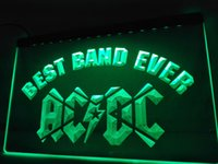 LA321g- Лучшая группа Ever ACDC LED Neon Light Sign