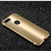 Wholesale Luxury Handmade Iphone Case - 699 New matel Case for iPhone 7 Card Holder Flip Cover for iphone 7 Handmade luxury Ultra Slim Phone Case 4.7 holster