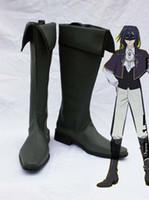 Wholesale Cosplay Inu X Boku - Wholesale-Freeshipping Inu X Boku SS Kagerou Shoukiin Cosplay Boots Shoes #77864 Custom made for Halloween Christmas