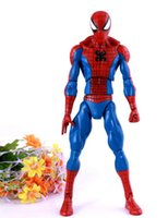 Wholesale Amazing Spiderman 11 - Red Movable spider-man children Super like Amazing Spider-Man Movie Spiderman Ultra Action Figure Toys