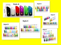 Wholesale Curved Acrylic Tips - curved 510 drip tips Driptips Wide Bore acrylic flat mouthpiece gourd shaped colorful ecig accessories fit mini haze rda DHL Free