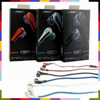 Wholesale Sms Wireless Headset - SMS 50 Cent Street Stereo Wired In Ear Earphone Headphones For Samsung S6 iPhone iPad iPod MP3 MP4 Cell Phone 50cent Earbuds Headset
