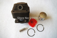 Wholesale Cheap Garden Tools - Cylinder & piston kit 39MM fits Mitsubishi T200 free shipping cheap brush cutter Cylinder kolben assy replacement part