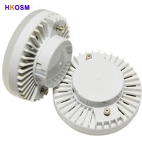 Wholesale- 10pcs / lot GX53 LED lampada 12W downlight ultra luminoso GX53 lampadina a led risparmio energetico GX 53 Lampada LED