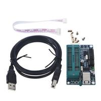 programadores usb al por mayor-Venta al por mayor-venta caliente 1set Programador PIC USB Programación Automática Desarrollar Programador Microcontrolador K150 ICSP Venta Caliente