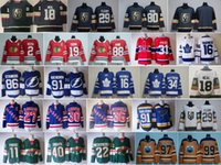 2018 Nueva 18 James Neal Jerseys de hockey 31 Carey Price 86 Nikita Kucherov 36 Mats Zuccarello 88 Patrick Kane 34 Auston Matthews 91 Tarasenko