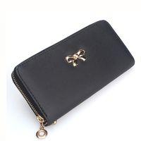 Wholesale Ladies Handbags Leather Wholesale - 2017 wholesale Fashion Lady Women Clutch PU Leather Long Wallet Card Holder Purse Handbag Bag wallets