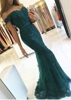 Wholesale Tulle Sweatheart - Elegant Mermaid Formal Dresses Evening Wear 2017 Appliques Beaded Crystal Prom Dress Backless Sweatheart Vestido de Fiesta