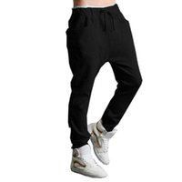 мешковатый трусик оптовых-Wholesale-D6li 1PC Men Boy Harem Baggy Hip Hop Dance Sport Sweat Pants Slacks Trousers New Fashion Feb1 RV