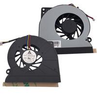 Wholesale Asus N61vg - Wholesale- New Laptop Cooling Fan for ASUS N61 N61V N61W N61J N61JV N61JQ N61VG K72D K72DR K52 CPU Cooler Radiator