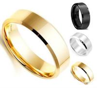 ingrosso porcellana d'argento d'argento dei monili-Cina Steampunk all'ingrosso nero oro argento colore gioielli in acciaio inossidabile uomini di marca anello massonico semplice acciaio inossidabile Rin