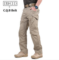 Wholesale Tactical Pants Green - Hot Sale! TAD IX9(II) Militar Tactical Cargo Outdoor Pants Men Combat Hiking Army Training Military Pants Hunting Outdoors Sport Trousers