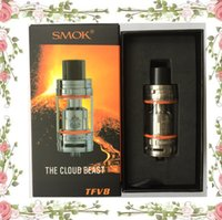 Wholesale Clearomizer T8 - SMOK TFV8 Tank Full Kit 5.5ml Atomizer Sub ohm tank TFV8 Cloud Beast clearomizer With V8-T8 V8-Q4 Coil clone via TFV4 atomizers