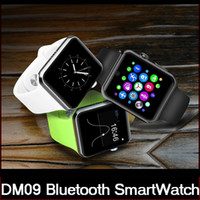 Wholesale lemfo bluetooth smart watch online – Lemfo DM09 Bluetooth Smart Watch D ARC HD Screen Support SIM Card Wearable Devices SmartWatch Magic Knob For IOS Android DHL freeshipping
