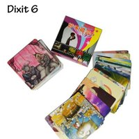 """Wholesale Toy Card Packaging - """"Dixit 6"""" Board Game Card Game 6 Edition Kid's Board Game Educational Toy Small Package With Free Shipping"""