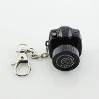 Wholesale Hd Pocket Cam - Small Digital Camera Y2000 HD Mini Camera 2.0MP Camcorder Audio Video Recorder Portable Pocket Spy Hidden Web Cam DV DVR Recorders