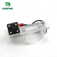 câmera skoda venda por atacado-CCD HD Câmera de Visão Traseira Do Carro para Skoda Rapid 2013-2015 car inverter estacionamento câmera invertendo câmera de segurança de visão noturna à prova d 'água KF-V1222