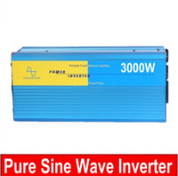 Wholesale Pure Power Systems - dc ac power inverter 12v 220v 3000w for solar system use Suiwer sinusgolf Inverter huis gebruik 3000w inverter Pure