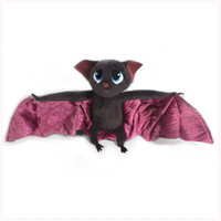 "Wholesale Animal Bat Toys - 2016 Hot Sale Hotel Transylvania Dracula Bat 7"" 18cm Plush Doll Stuffed Animals Plus Toys Gifts SKO"