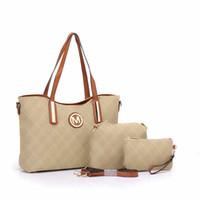 Wholesale Materials For Handbags - high quality handbags and purses for women 2017 new designer leather women handbags pu material *MK* designer famous brand bag#8856