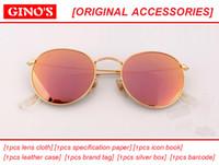 Wholesale Lunette Steampunk - 2017 new Women Round Sunglasses Men Brand Designer Sun Glasses Female Lunette Gafas Oculos De Sol Feminino Eyewear gafas Steampunk Goggles