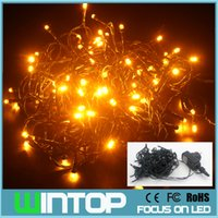 10m / 100led DC31V IP44 alta qualità cavo verde LED String Light Fairy Lights con 8 modalità diverse per Party / Wedding