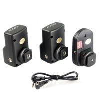 Wholesale Remote Flash Triggers - Andoer Universal 16 Channels Radio Wireless Remote Speedlite Flash Trigger 1 Transmitter & 2 Receivers D1374