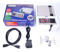 Wholesale Retro Tv - Coolbaby HD HDMI Out Retro Classic 600Games TV Video Handheld Console Entertainment System Built-in 600 Classic Games For NES Mini PAL&NTSC