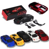 Wholesale Car Speaker Support Sd Card - Mini Speaker Sports Car Shape Bluetooth Speakers Portable Wireless Loudspeaker Stereo Subwoofers Music MP3 Player Support FM USB TF SD Card