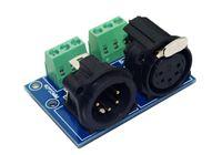 controlador dmx512 pc al por mayor-1 unids XLR5-3P DMX512 Relays conector para controlador led DMX512 RELÉS Controlador