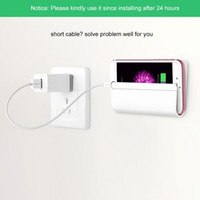 Wholesale Wall Charger Stand - Wholesale Universal Wall Stand Mount Charger Phone Holder for iPhone for Mobile Phone for Samsung Huawei Xiaomi and Tablet