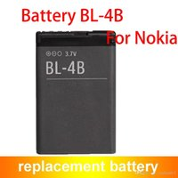 Wholesale Bl 4b - Wholesale Price BL-4B BL4B Mobile Phone Battery For Nokia 5000 6101 6103 6111 6125 700mAh