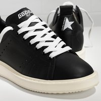 Wholesale Gold Goose - GGDD Gooses Women Super Star Sneakers Shoes Men Scarpe Donna Uomo Leather Homme Femme Starter Sneakers In Calf Leather Black White Sole
