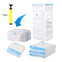 Wholesale Large Vacuum Bags - Home Use Household Large Space Saver Saving Storage Bag Vacuum Seal Compressed Organizer 5 Size with Retail Package for Bedding