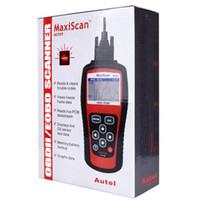 obdii eobd scanner venda por atacado-Ferramenta de Diagnóstico MaxiScan MS509 Autel OBDII OBD2 EOBD Automotive Code Reader Scanner Trabalho Para EUA Carro Europeu Asiático