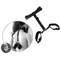Wholesale Sexy Toys Handcuffs Adult Products - Sex Products Adult Sexy Toys for Couples Erotic Toys SM Slave Games Fetish Leather Collar Handcuffs BDSM Bondage Sex Toys