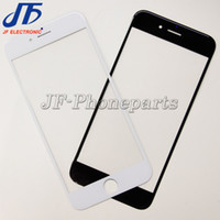 Wholesale Iphone 5s Front Lcd - 10pcs lot NEW Replacement LCD Front Touch Screen Glass Outer Lens for iphone 5 5c 5s 6 6s plus 7 plus Free Shipping