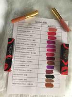 en uzun ömürlü dudak parlatıcısı toptan satış-En kaliteli Lasplash Lip Couture Sıvı Mat Ruj Yüksek kaliteli Uzun ömürlü Mat Pigment Dudak parlatıcısı Ruj