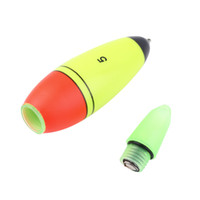 1pcs Foam Fishing Floats Buoy Bobber Slip Drift Tube Indicador LED Acessório de pesca ao ar livre Best Seller