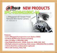 Wholesale Dahua Mini Dome - DAHUA 1.3Megapixel HD Vandal-Proof Mobile Network Mini CCTV Dome Camera IPC-HDB4100C-M
