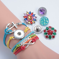 Wholesale infinity jewellery - Antique Charm Giraffe Anchor Faith Infinity Braided Leather Bracelets Fashion Wrist Bands Jewellery hy148
