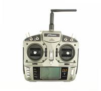 ingrosso elicotteri jr-Trasmettitore MKron Gray 2.4GHz 6 CH, telecomando UAV W memoria modello 10 W S603 RX Surpass DX6i JR FUTABA per elicottero, quadricotteri