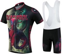 Wholesale Cycling Jersey Spiderman - Spiderman Ropa Ciclismo Cycling Clothing MTB Bike Clothing  Bicycle Clothes 2016 cycling uniform Mans Cycling Jerseys 2XS-6XL A34