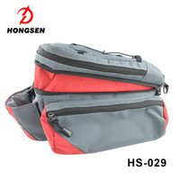 Wholesale Bike Bag Saddle Large - Expandable large capacity back seat tail bicycle bag New waterproof bicycle bag,travel saddle bag bicycle,bike saddle outdoor pouch seat bag