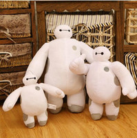 Wholesale Hot Figures Toys For Children - Hot 30cm Baymax Plush Doll of Movie Stuffed Large Soft Baby Kids baby Toys For Children Christmas Gift Kawaii Juguetes