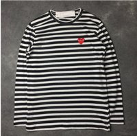 Wholesale Camisa Fashion Women - Wholesale-Hot sale 2016 Fashion Good Quality CDG t shirt women Cotton summer O-Neck T-shirts tee shirt couple shirt camisa feminina